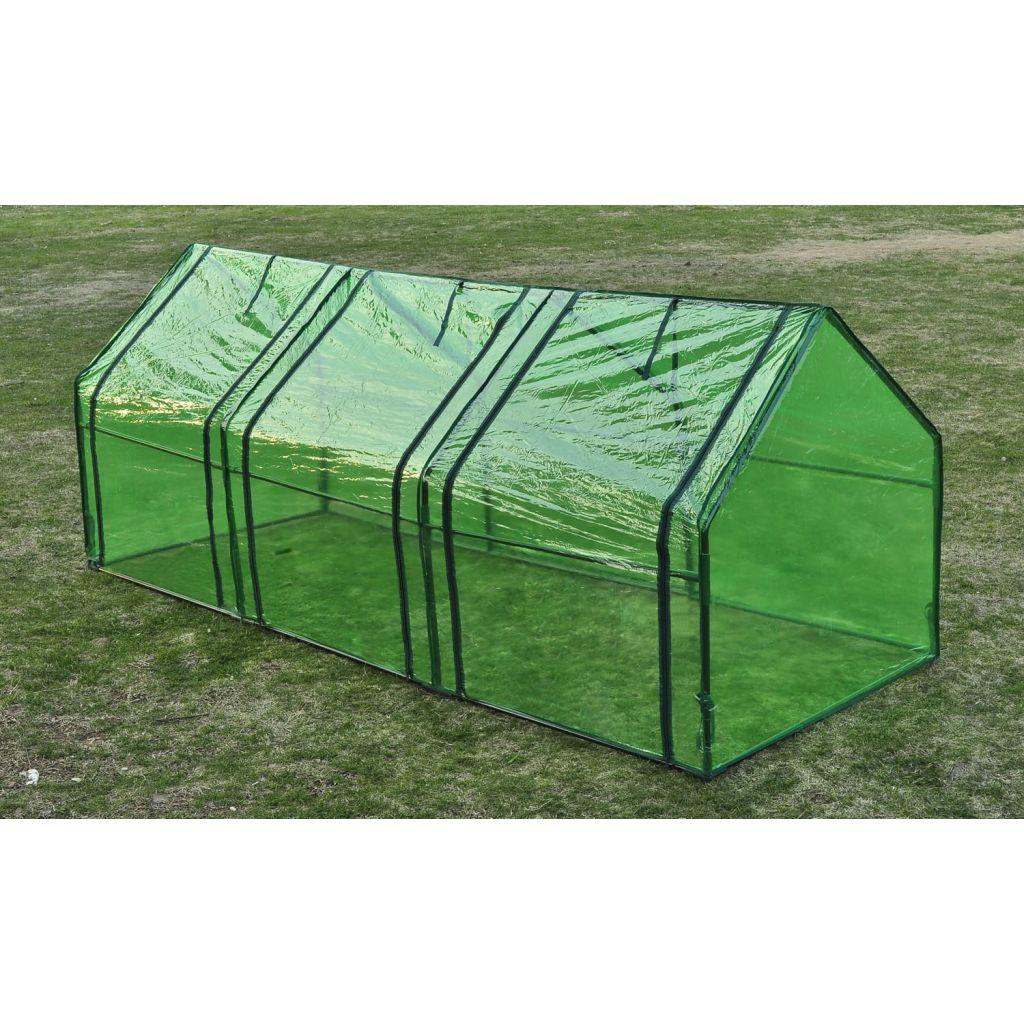 Växthus med 3 dörrar