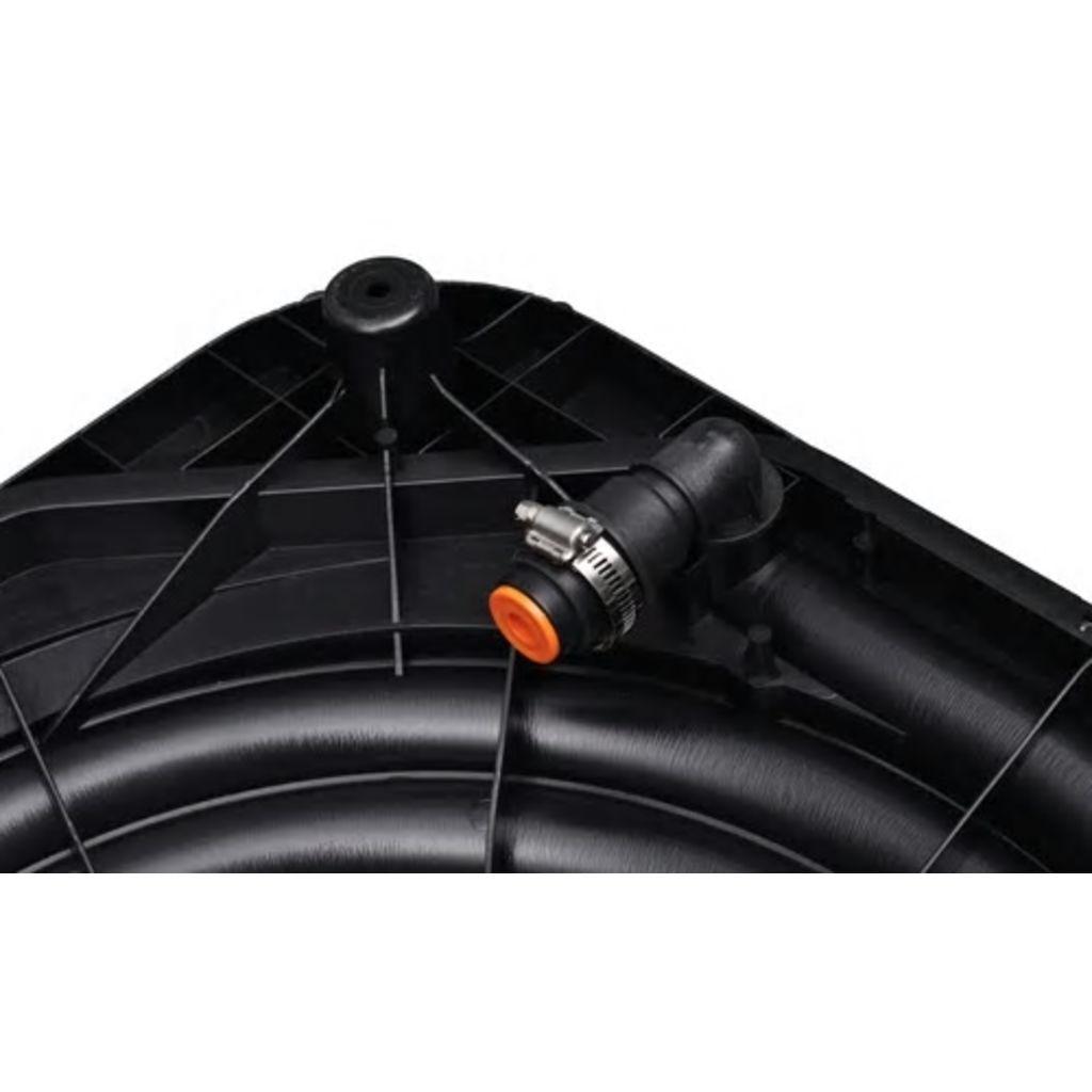 Poolvärmare solfångare 735 W 5-pack