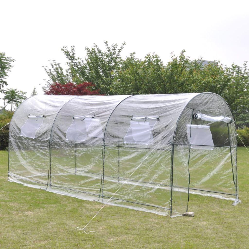Portabelt stort växthus