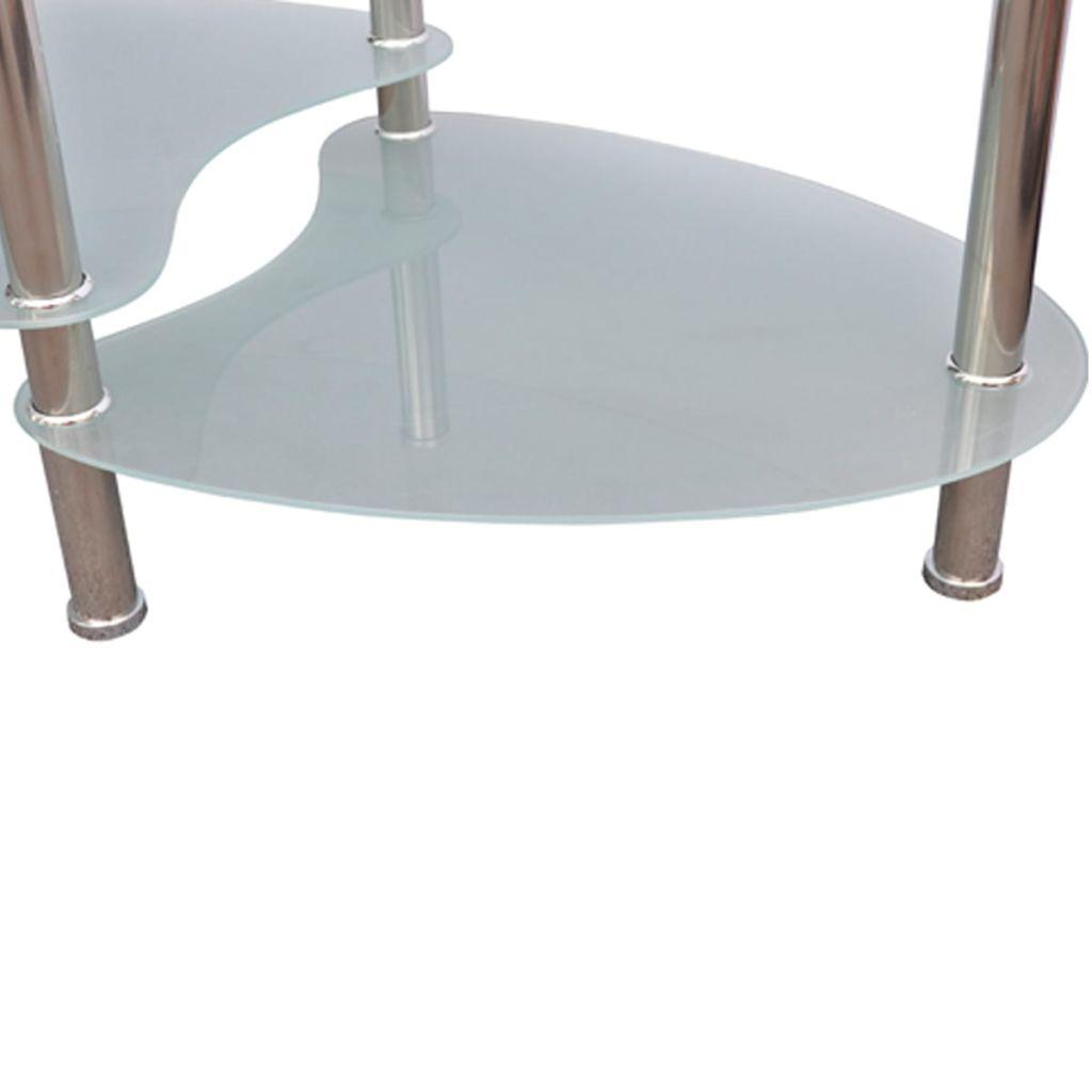 vidaXL Soffbord med exklusiv design vit