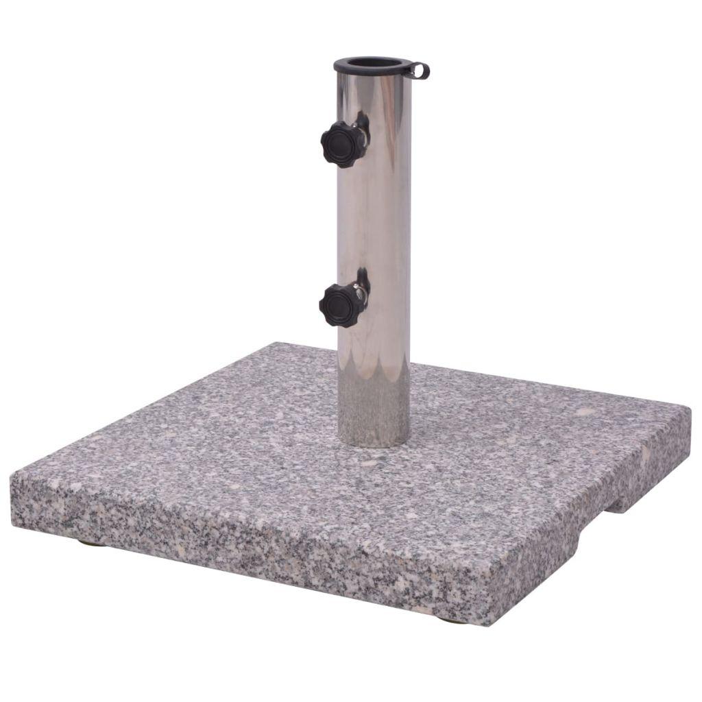 Fot till parasoll 20kg Granit