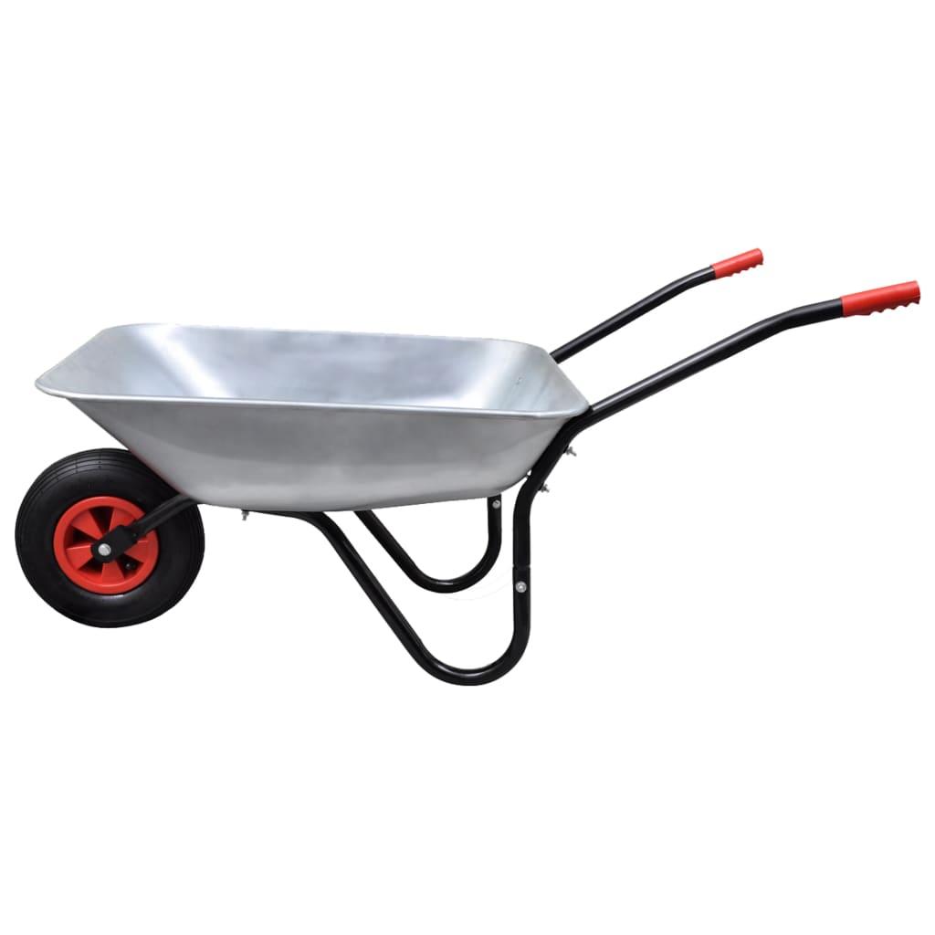 Skottkärra 1 hjul 80 liter
