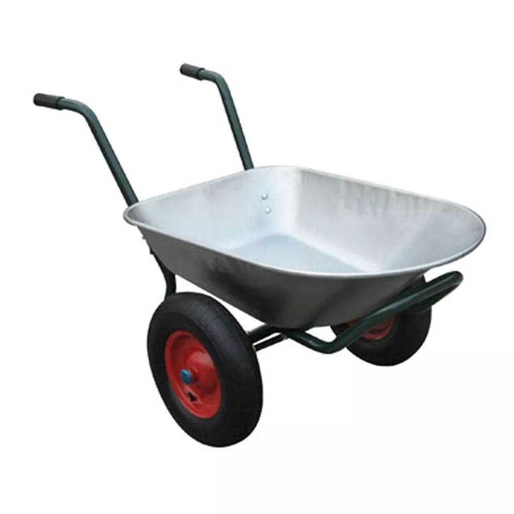 Skottkärra 2 hjul 66 liter 150kg