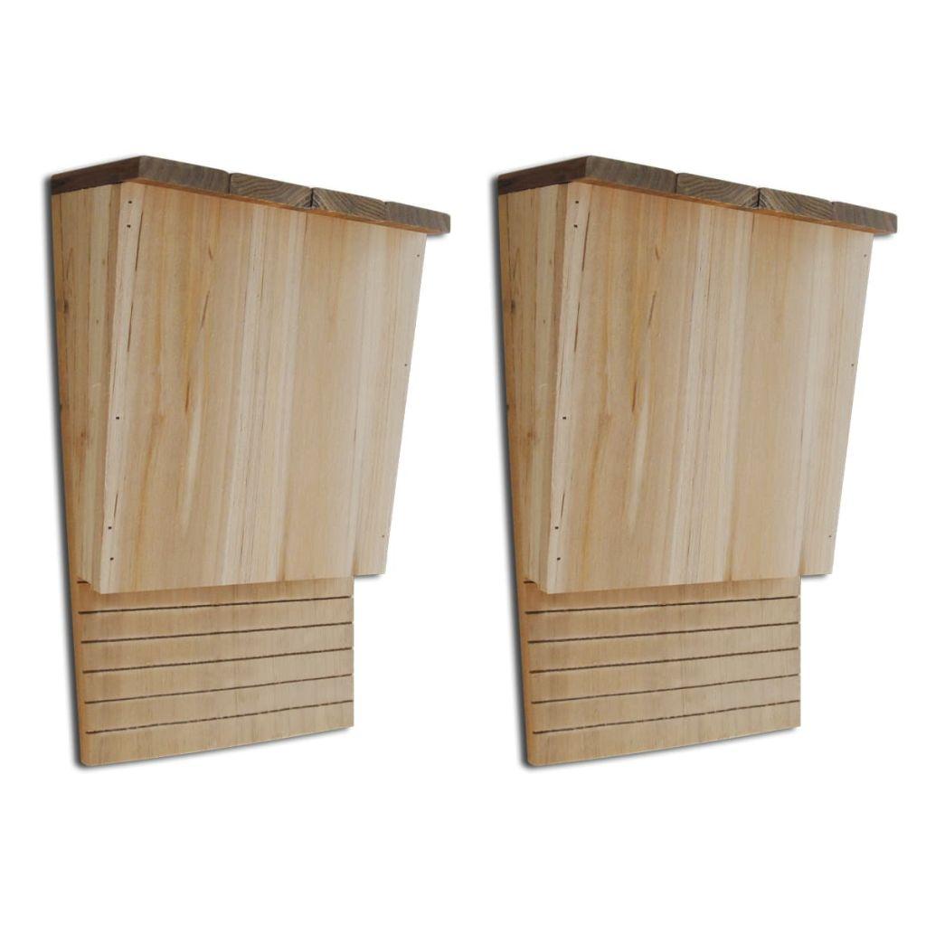 Fladdermusholk, 22 x 12 x 34 cm, 2-Pack