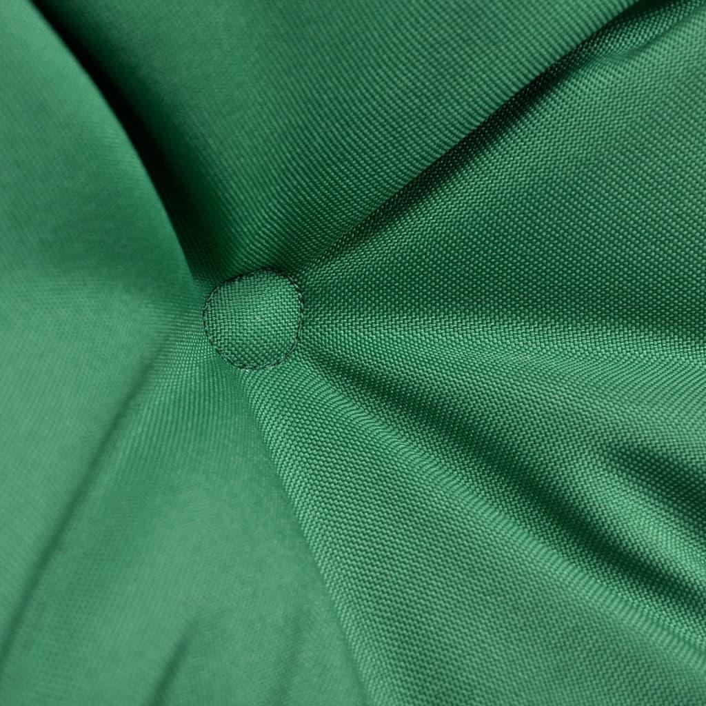 Grön sittdyna för hängstol 120 cm
