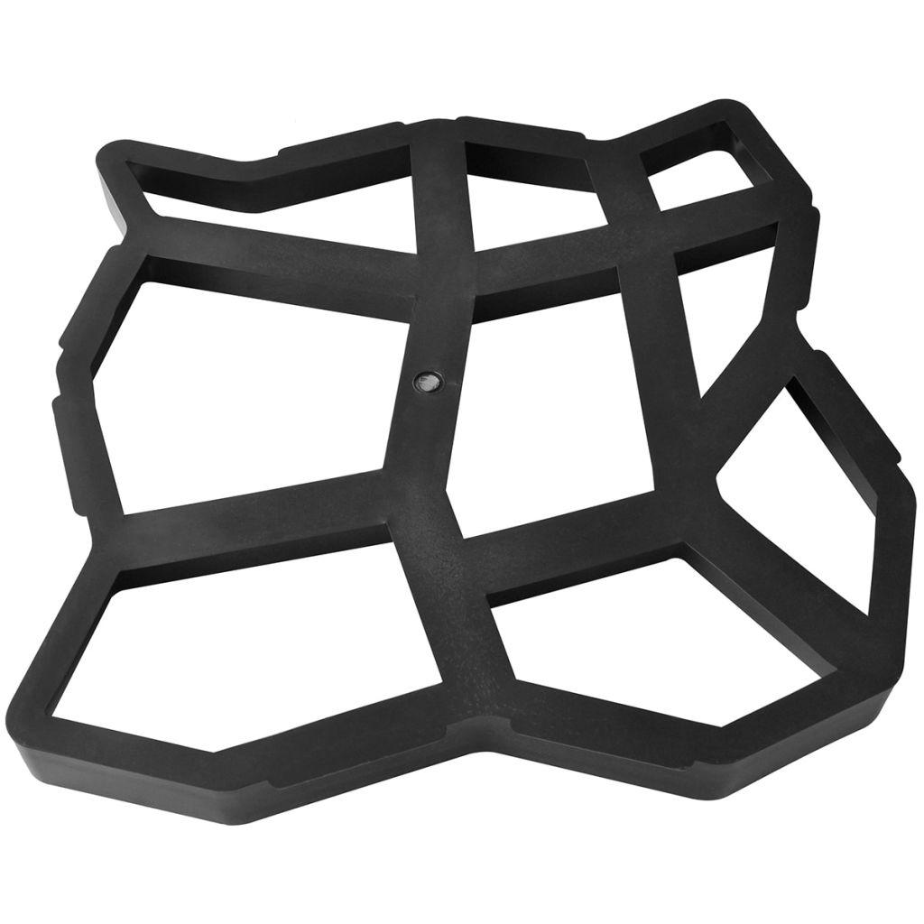 Form för gångväg 42 x 42 x 4 cm Set of 2