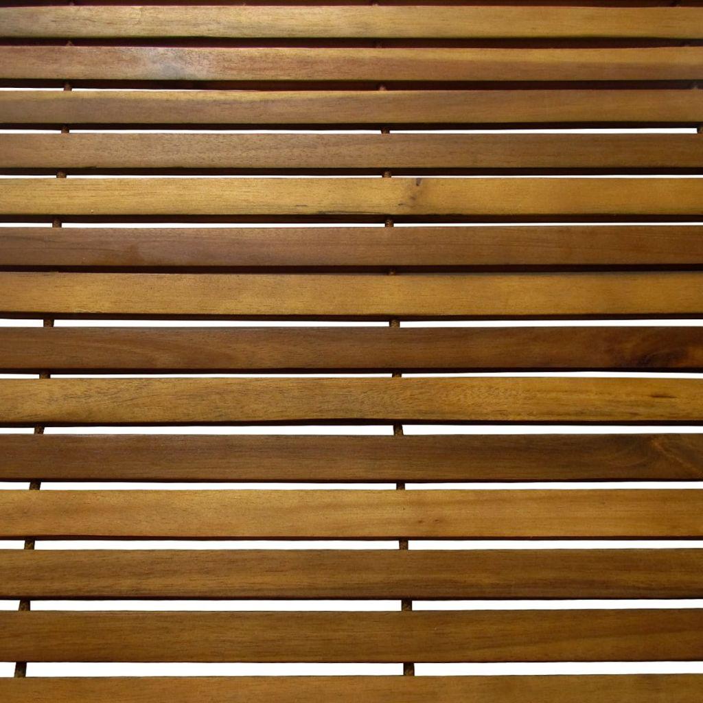 Badrumsmattor 3 st akacia 80 x 50 cm