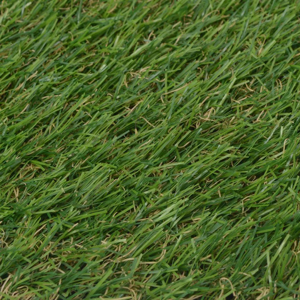 Konstgräsmatta 1x5 m/20-25 mm grön