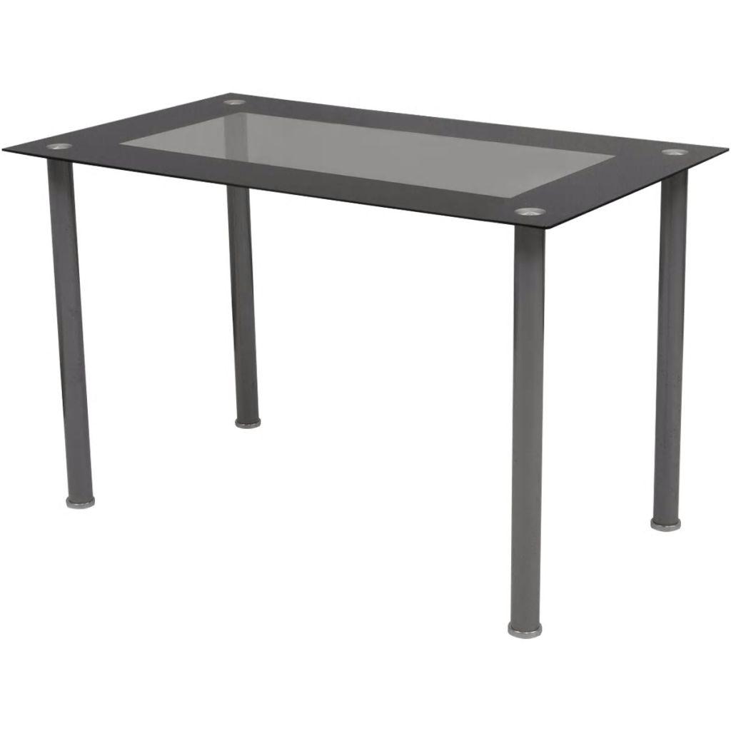 vidaXL Matbord och stolar 5 delar brun