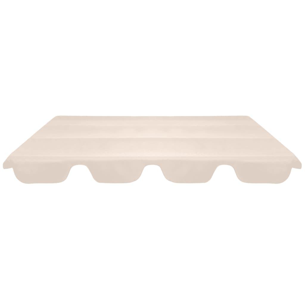 Reservtak för hammock beige 226x186 cm