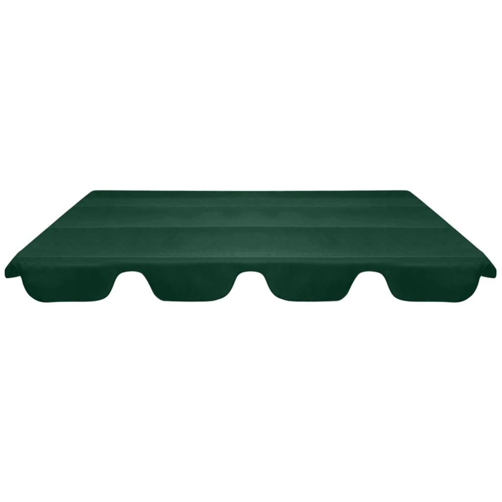 Reservtak för hammock grön 226x186 cm