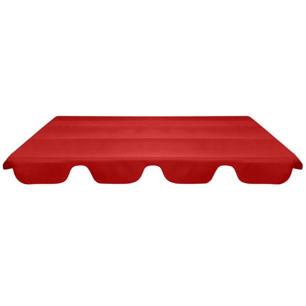 Reservtak för hammock röd 226x186 cm