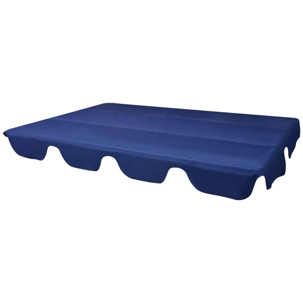 Reservtak för hammock blå 226x186 cm