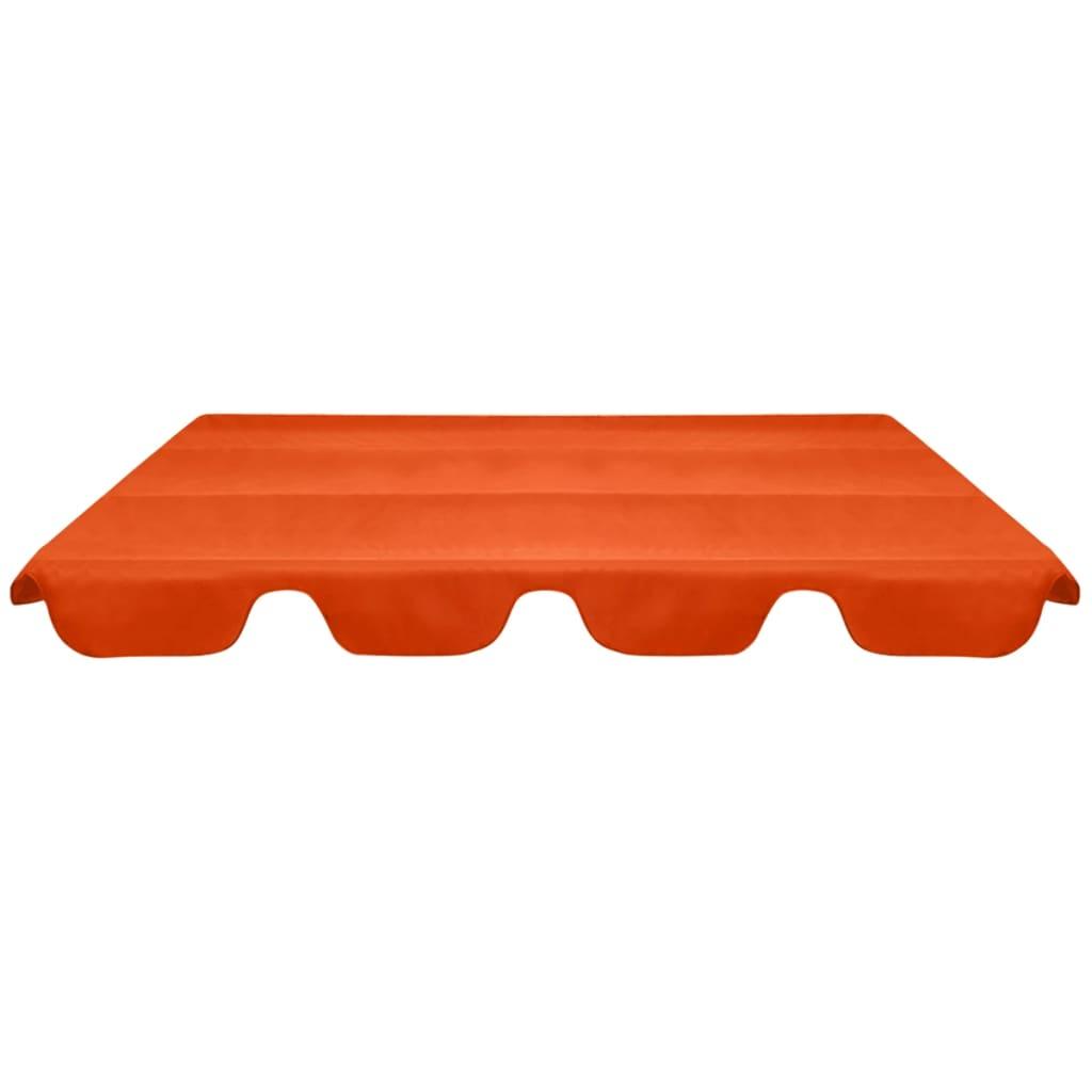 Reservtak för hammock orange 226x186 cm
