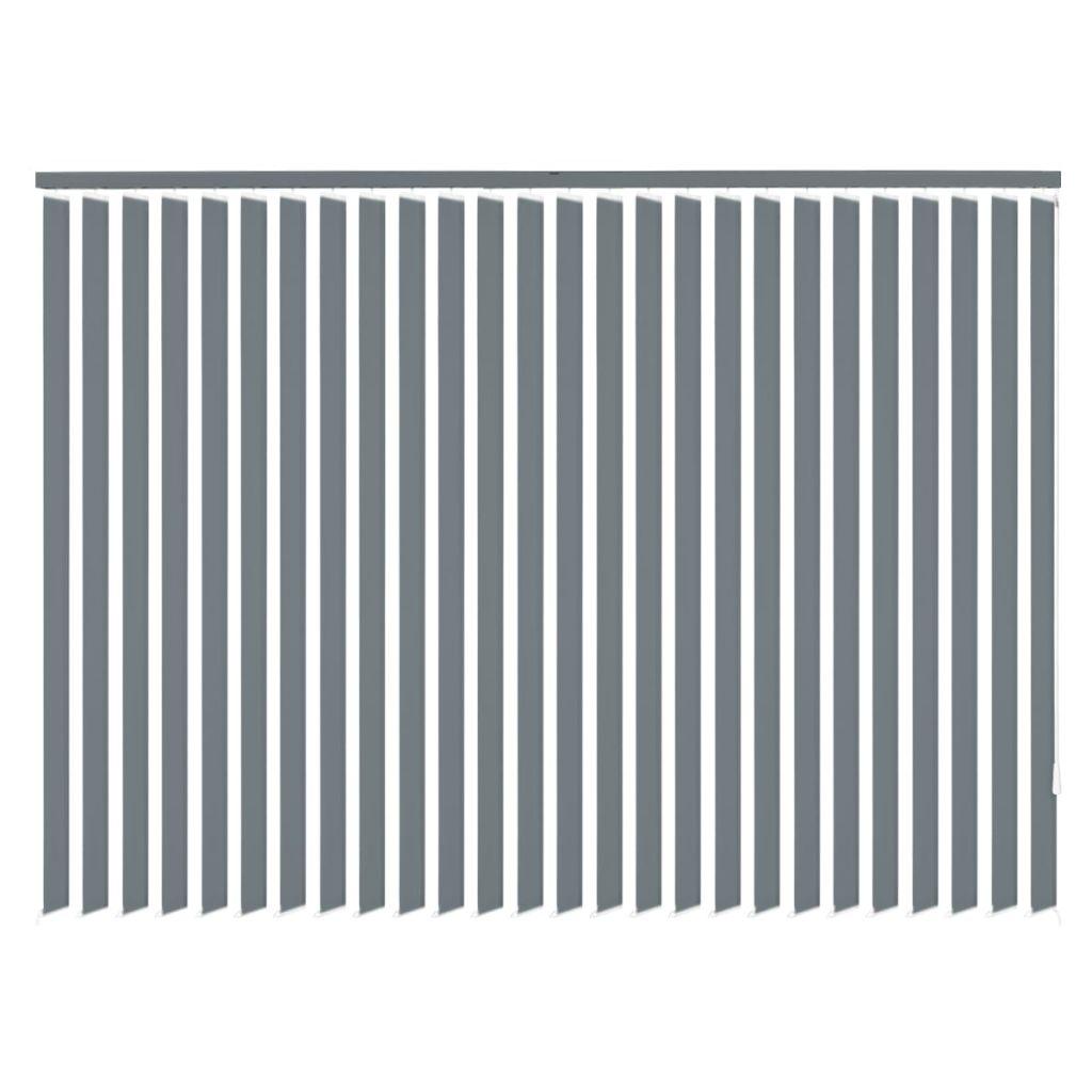 vidaXL Draperi tyg 120x250 cm grå