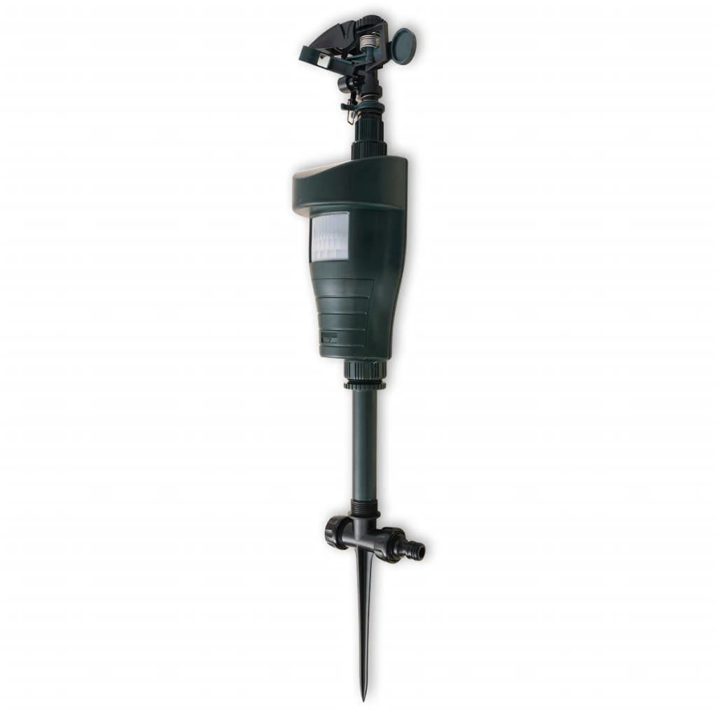 Djurskrämma med vattenspruta och PIR-sensor mörkgrön
