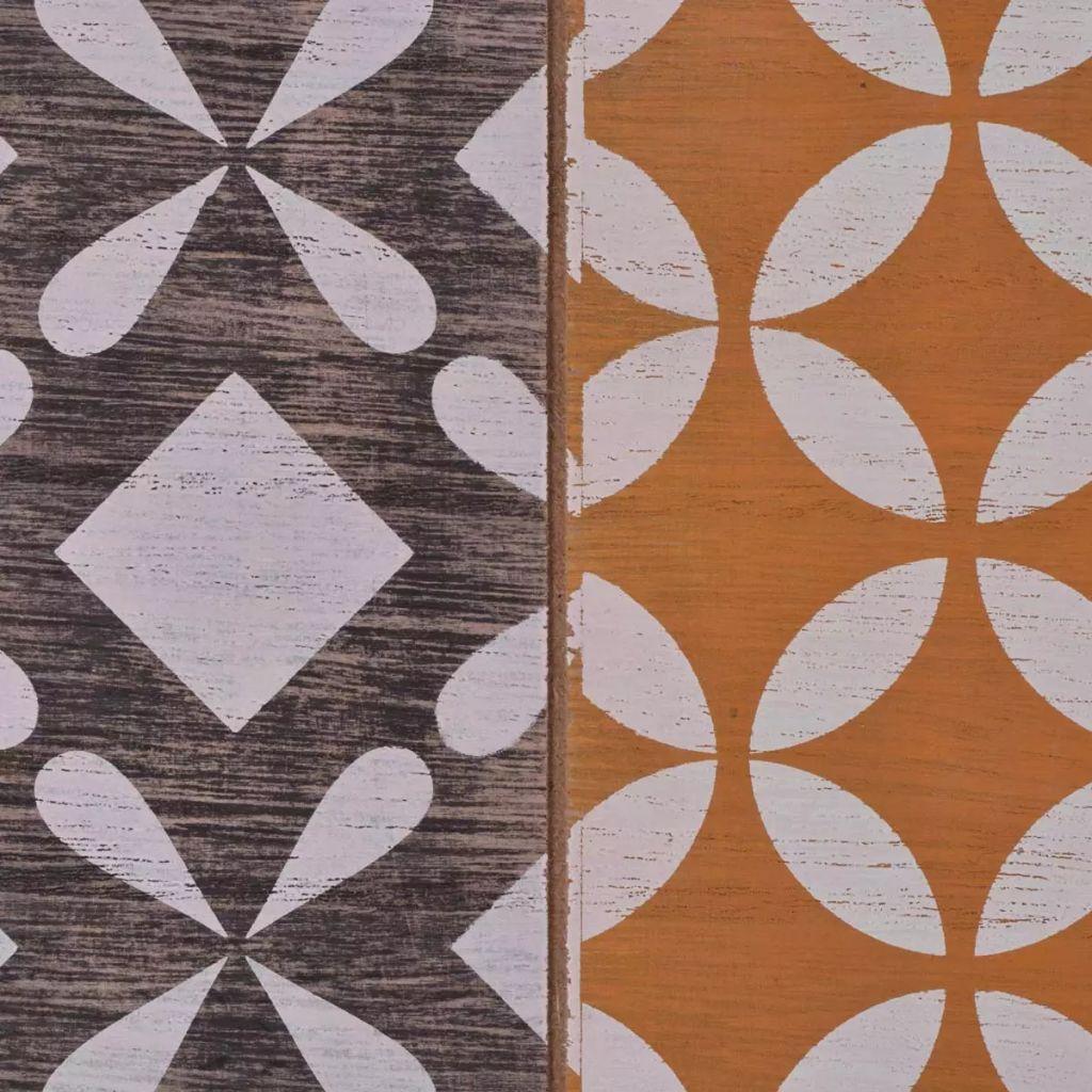 vidaXL Soffbord 120x60x38 cm brun
