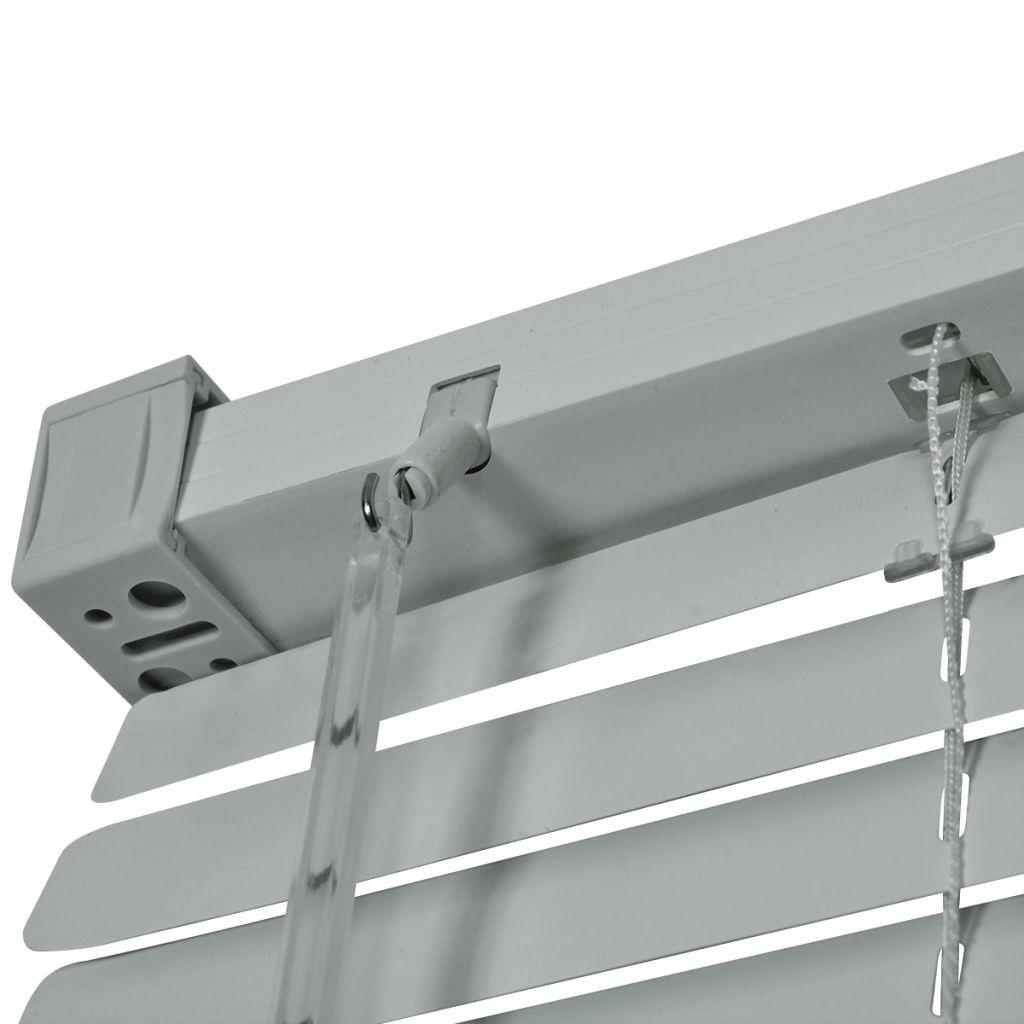 vidaXL Persienner aluminium 160x220 cm silver