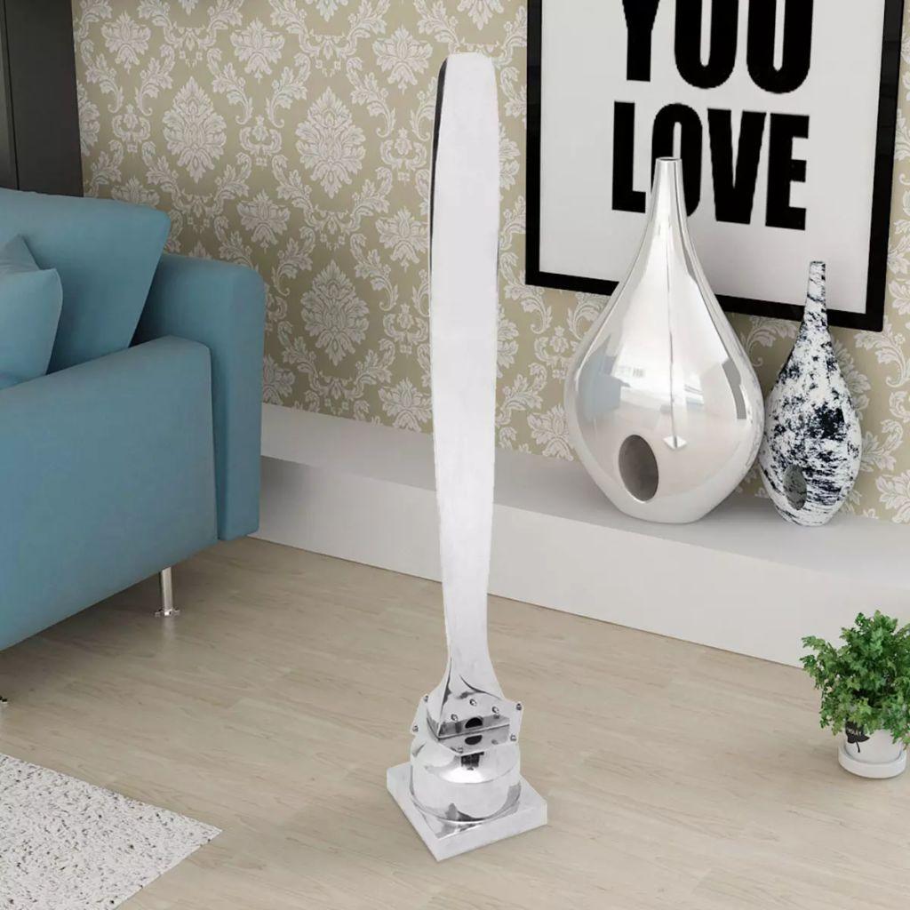 vidaXL Stativ för propellerblad aluminium silver 150 cm
