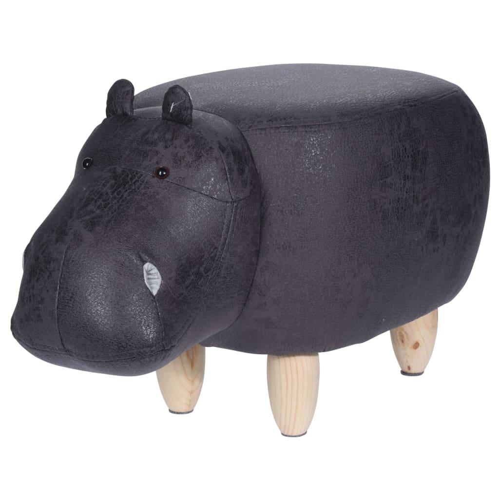 Home&Styling Pall 64x35 cm flodhäst