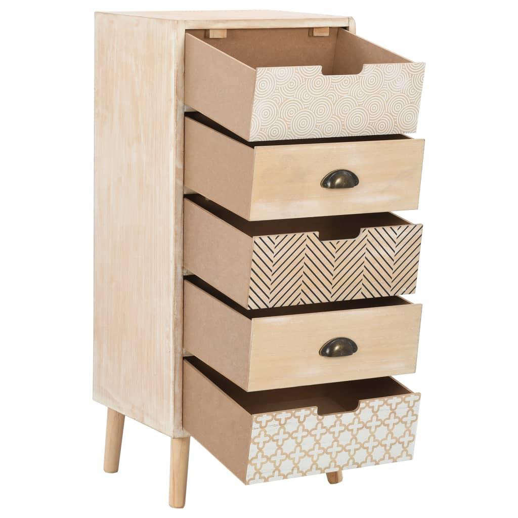 Byrå med 5 lådor 40x35x95,5 cm