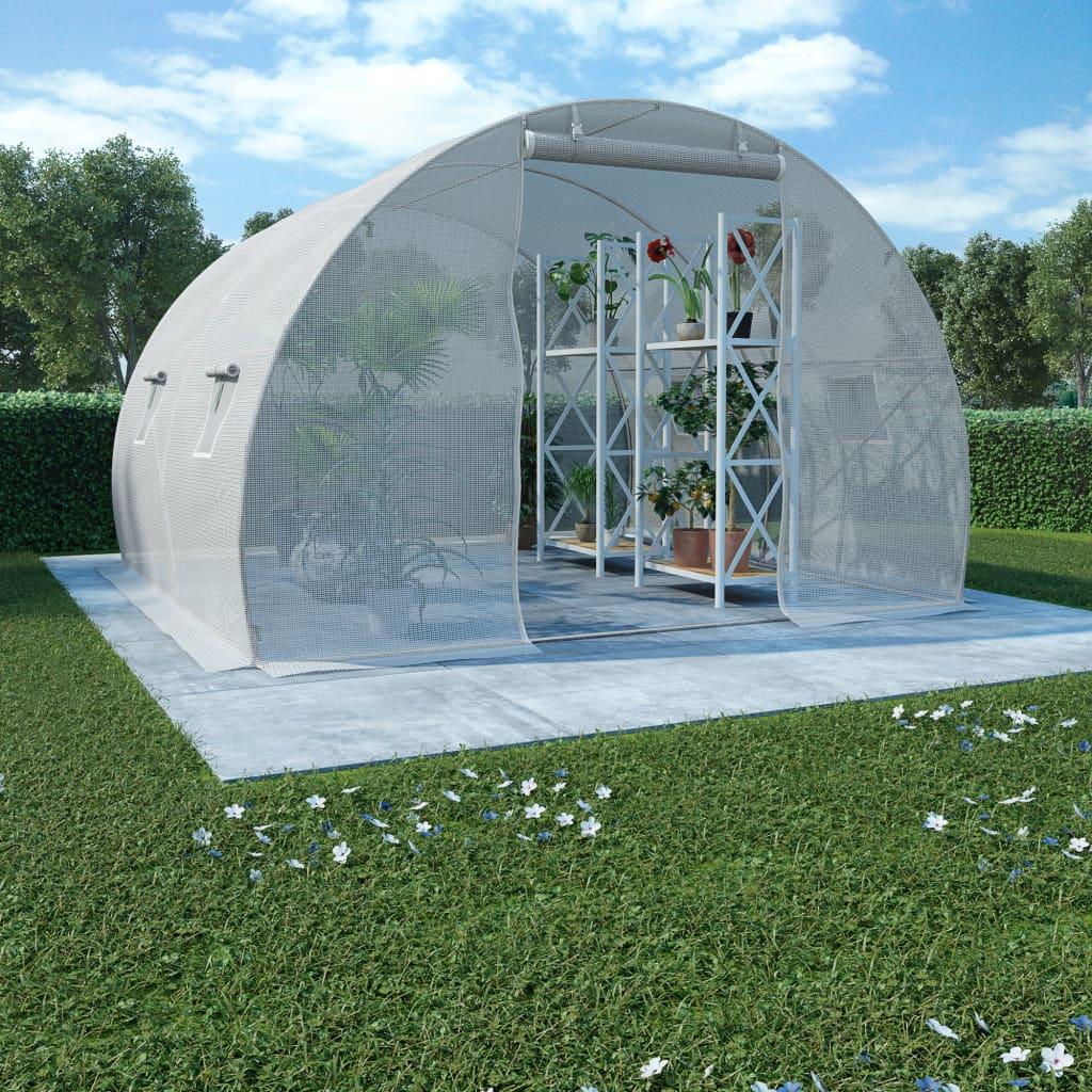 Växthus 9m² 300x300x200 cm