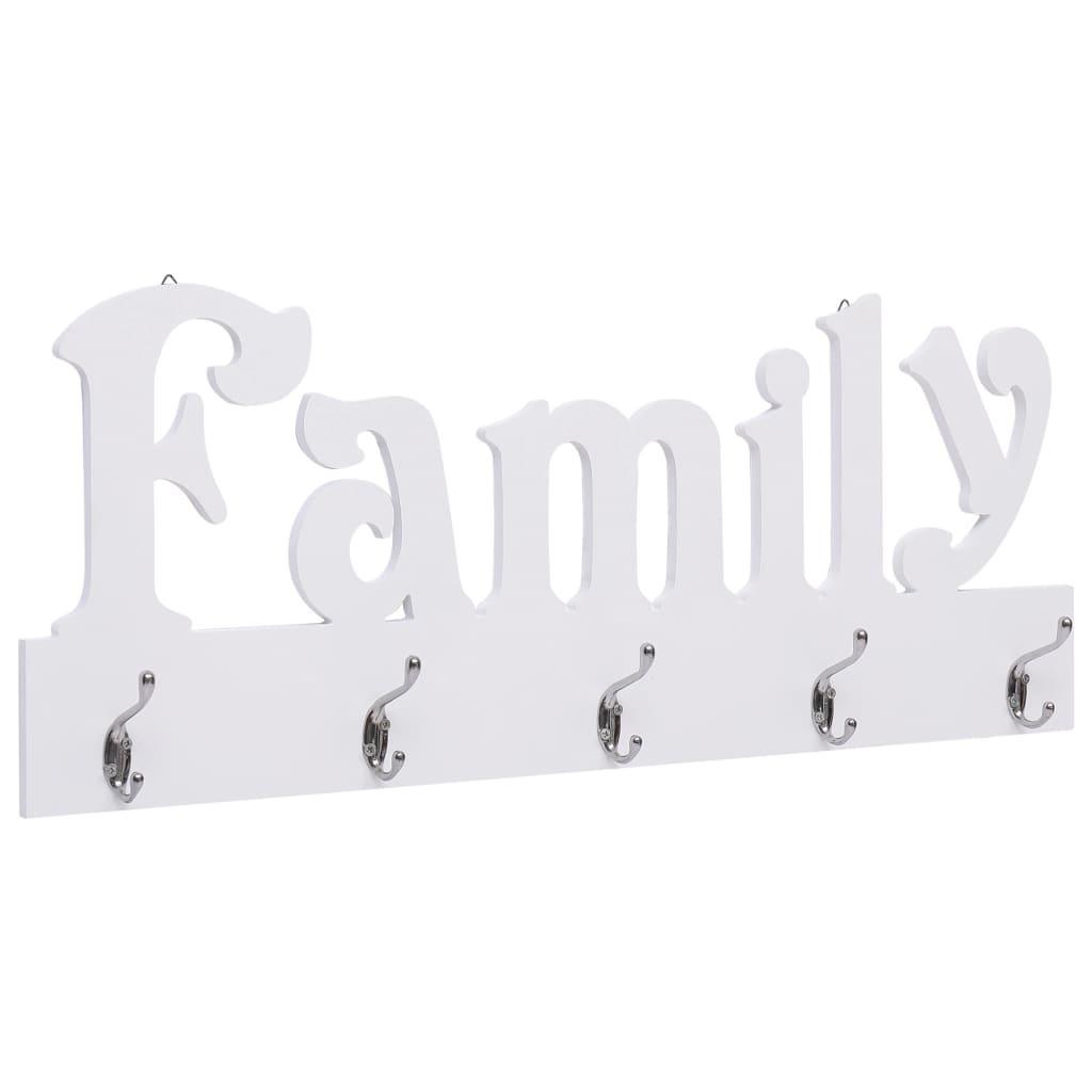 Väggkrokar FAMILY 74x29,5 cm