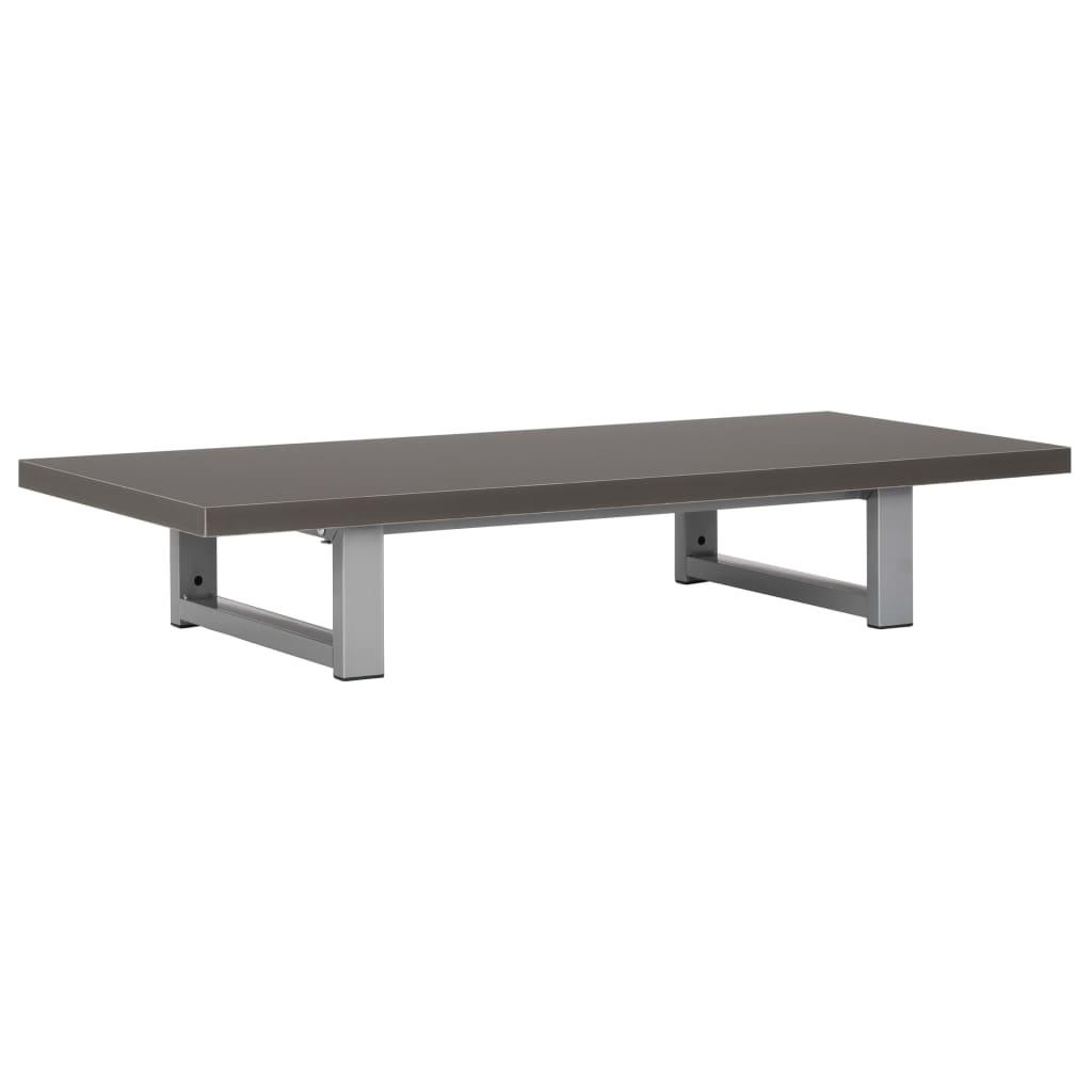 Badrumsmöbler grå 90x40x16,3 cm