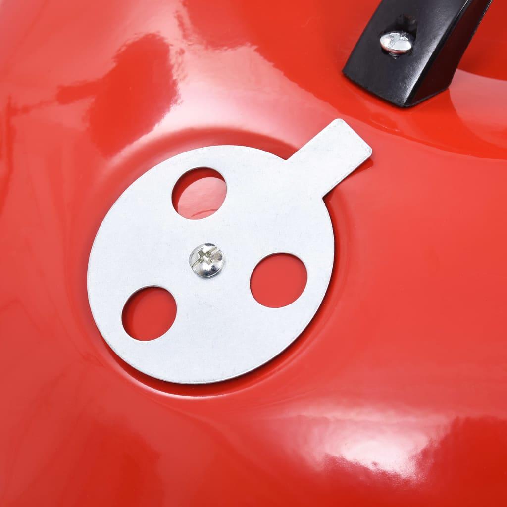 Portabel kolgrill med hjul XXL 44 cm