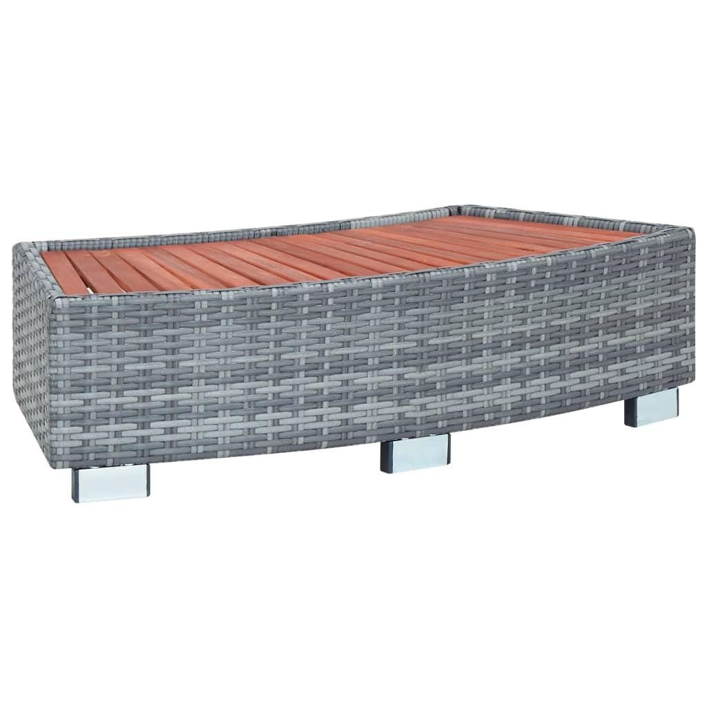 Spatrappa grå konstrotting 92x45x25 cm