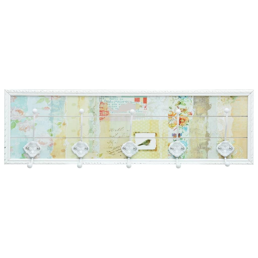 Klädhängare vit 20,2x8,5x66,5 cm MDF