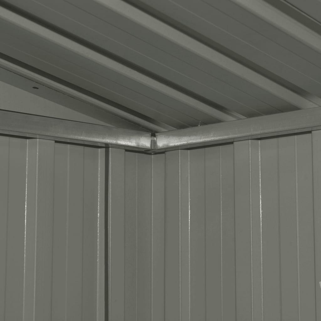 Förvaringsbod antracit stål 257x205x178 cm
