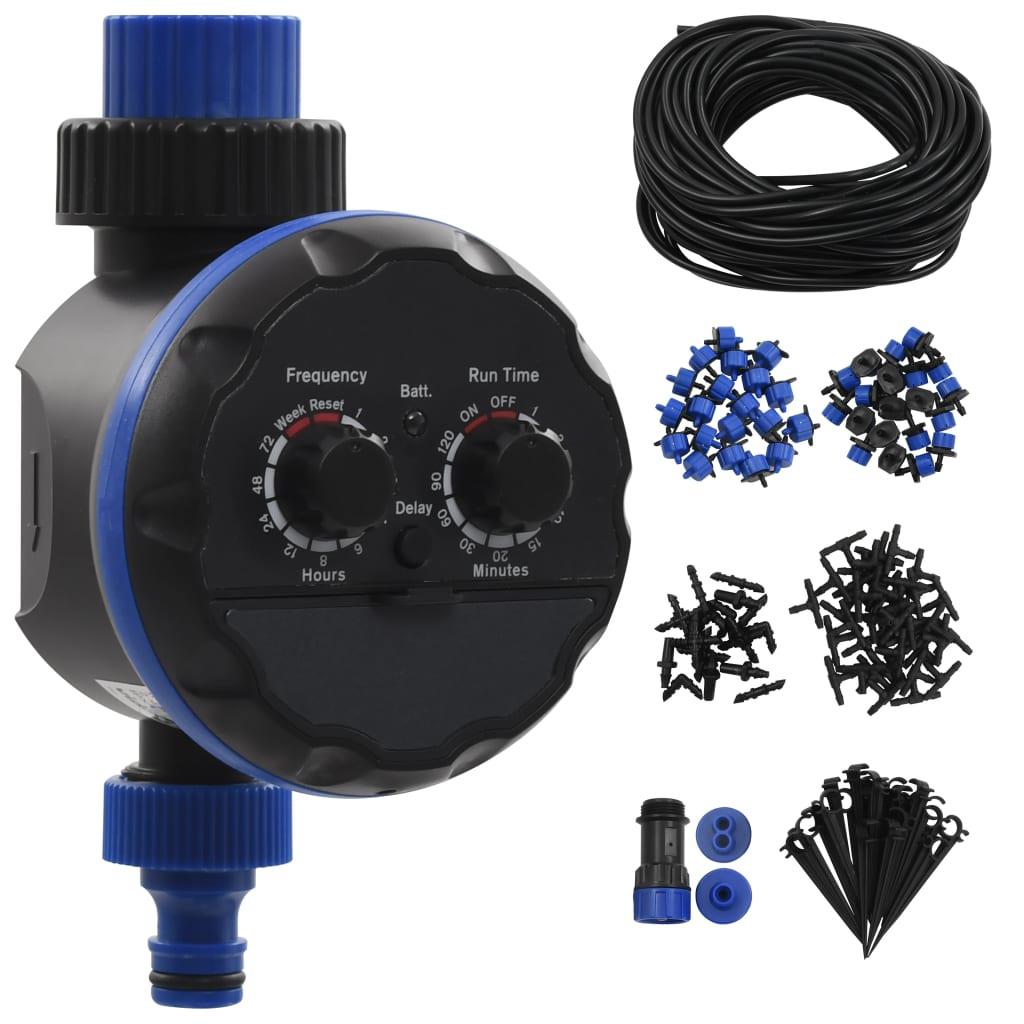 Automatiskt droppbevattningssystem 142 delar med timer