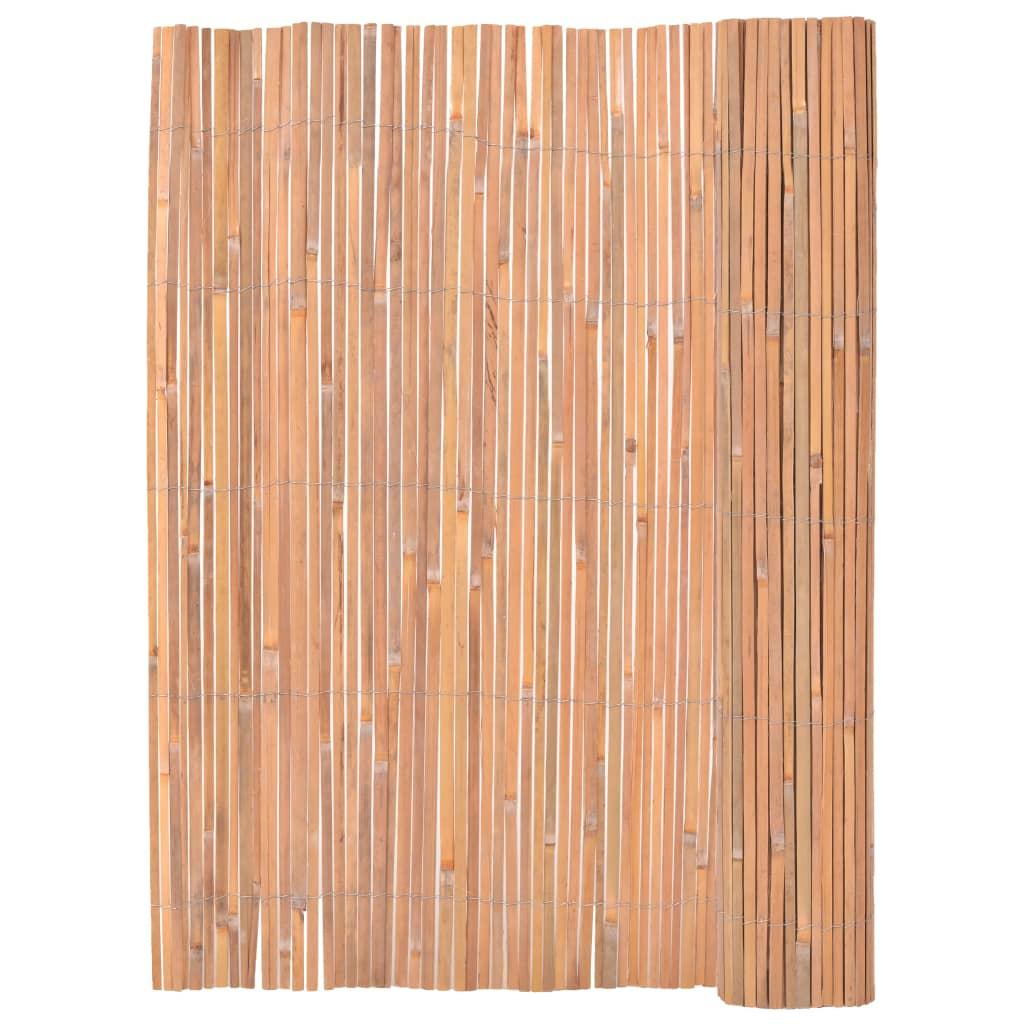 Bambustaket 125x400 cm