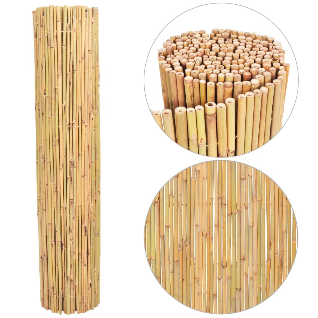 Bambustaket 300x125 cm