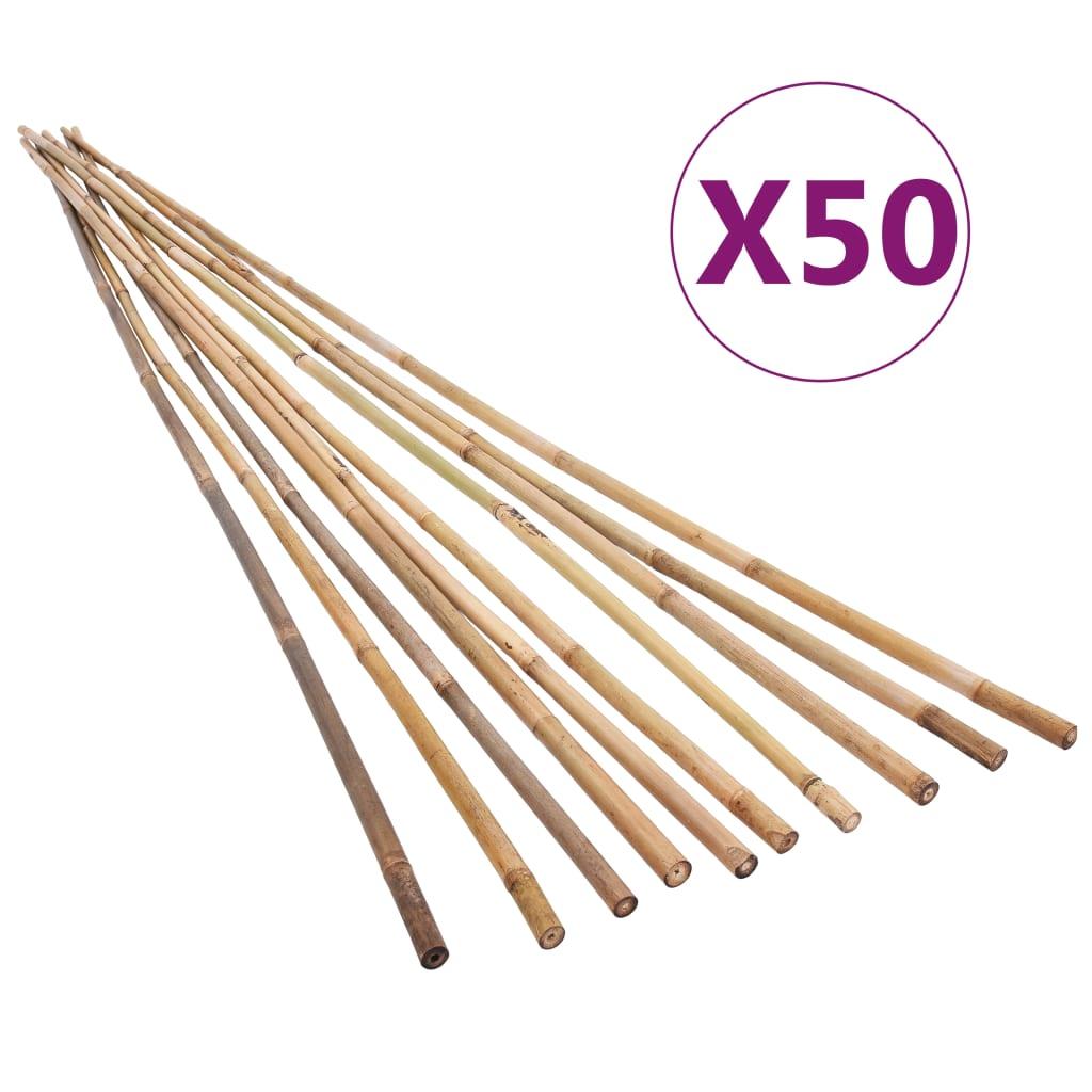 Bambupinnar 50 st 120 cm