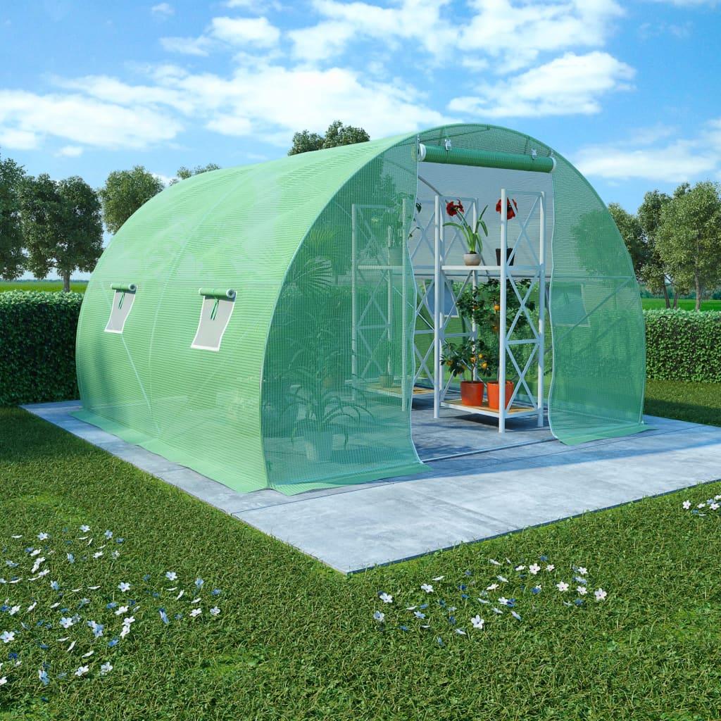 Växthus 6 m² 3x2x2 m