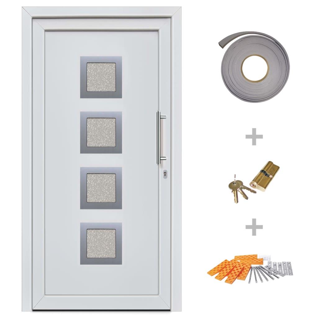 Ytterdörr vit 108x200 cm