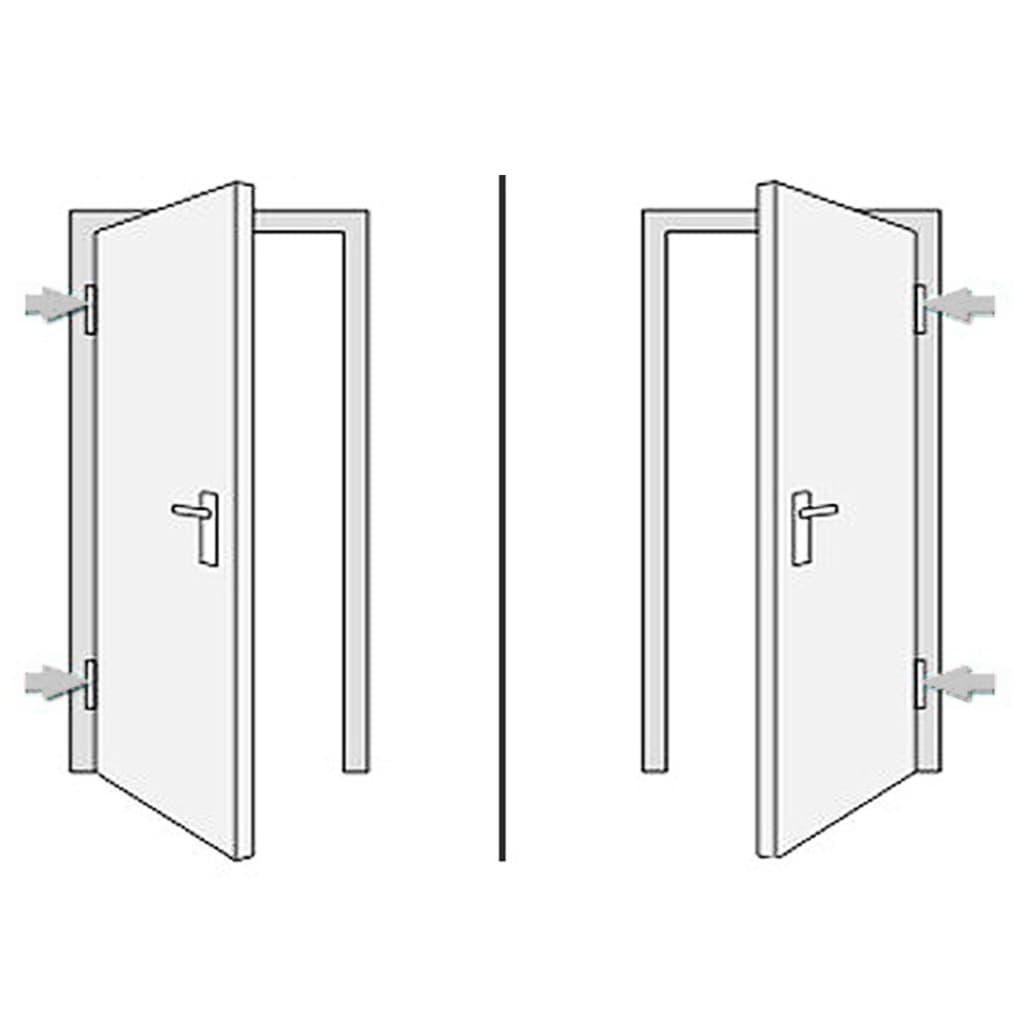 Ytterdörr antracit 108x200 cm