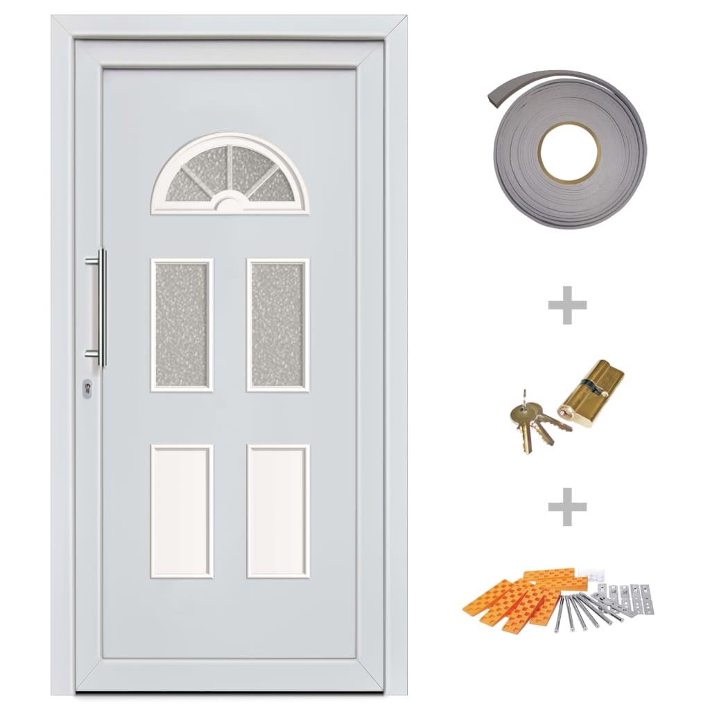 Ytterdörr vit 98x198 cm