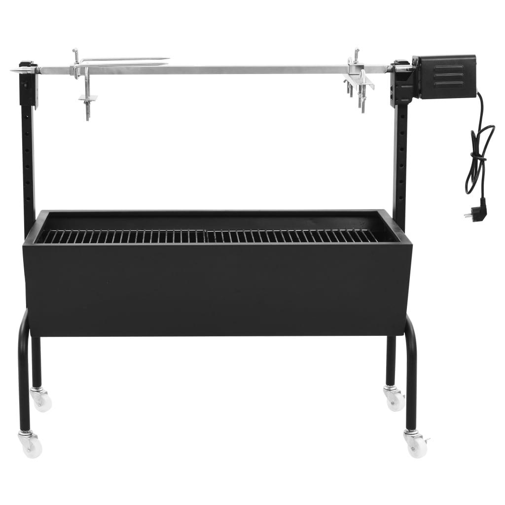 Elektriskt grillspett rotfritt stål