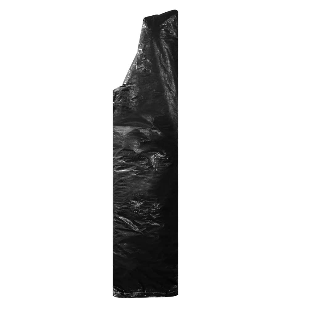Parasollskydd med blixtlås PE 180 cm