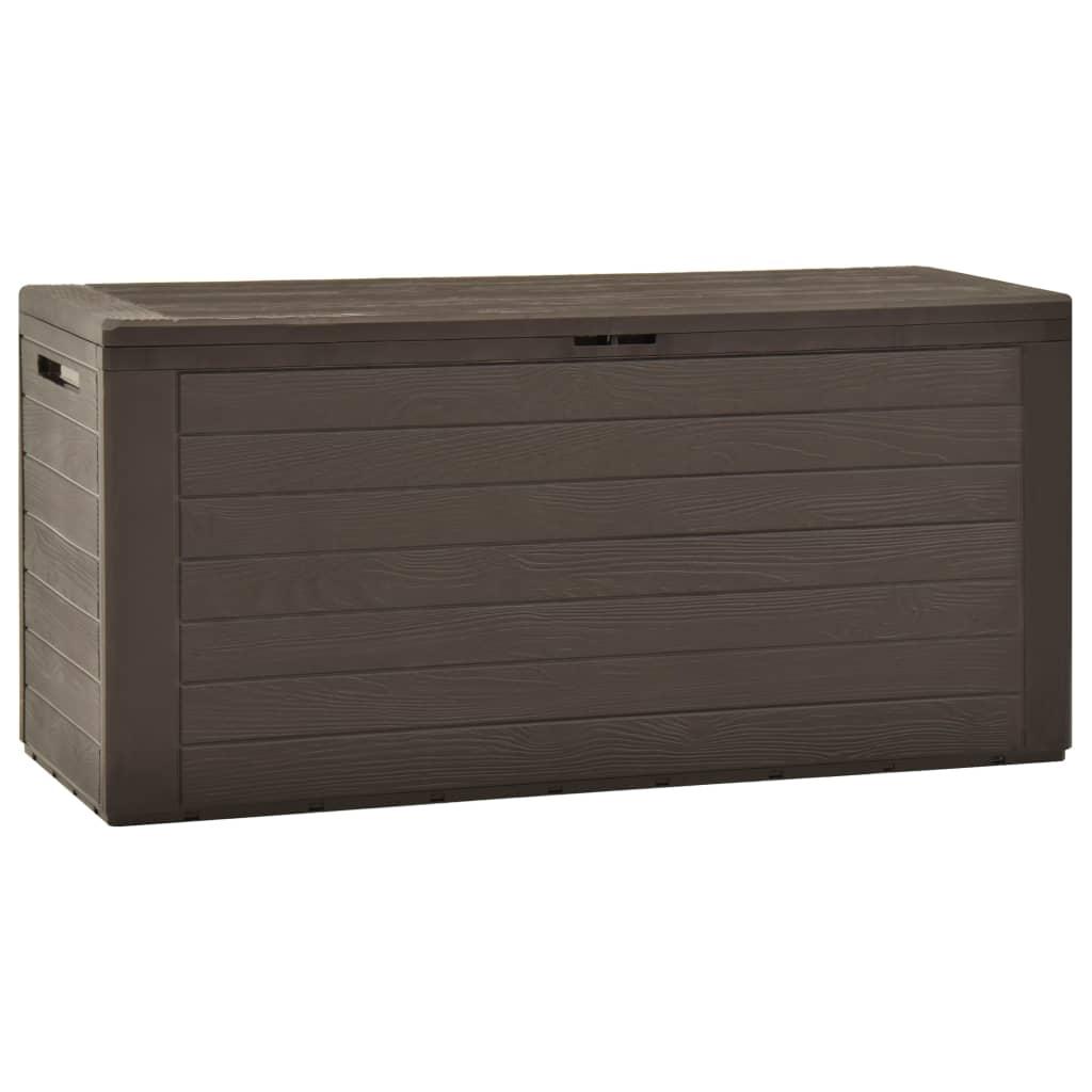 Dynbox brun 116x44x55 cm