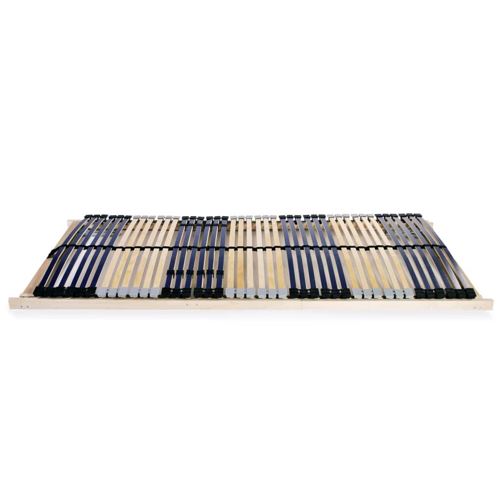 Ribbotten med 42 ribbor 2 st 7 zoner 80x200 cm