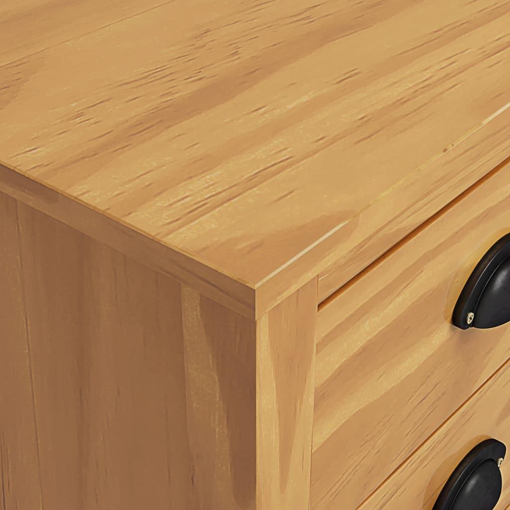 Sängbord 2 st Hill Range 46x35x49,5 cm massiv furu