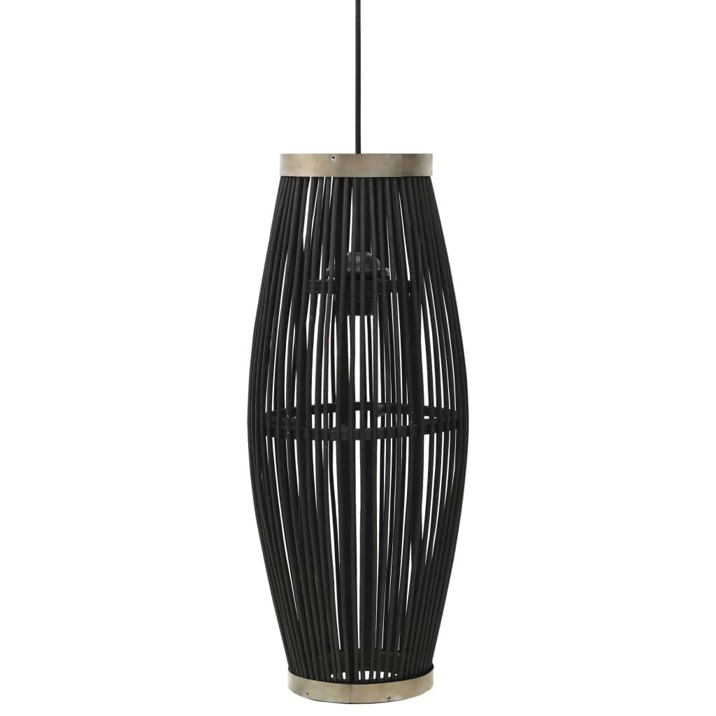 Taklampa svart pil 40 W 23x55 cm oval E27