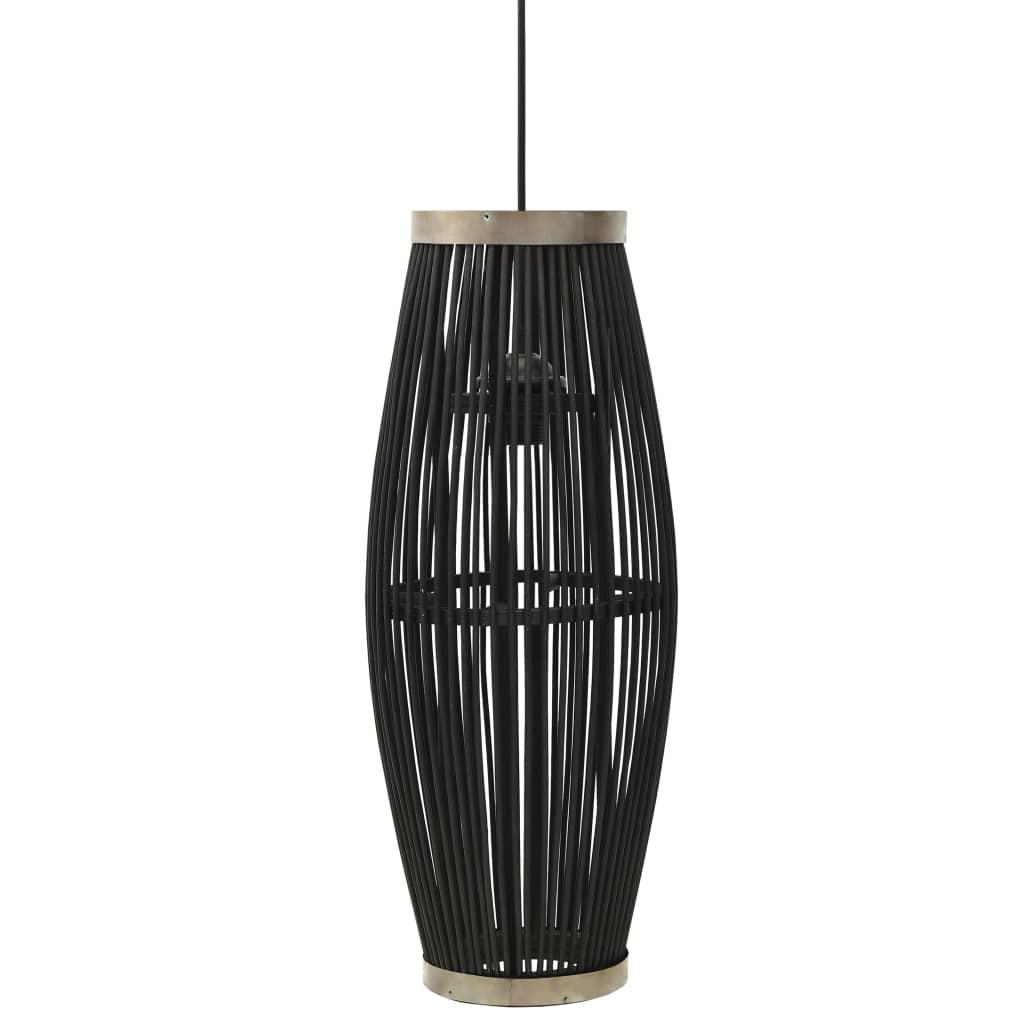 Taklampa pil svart 40 W 25x62 cm oval E27