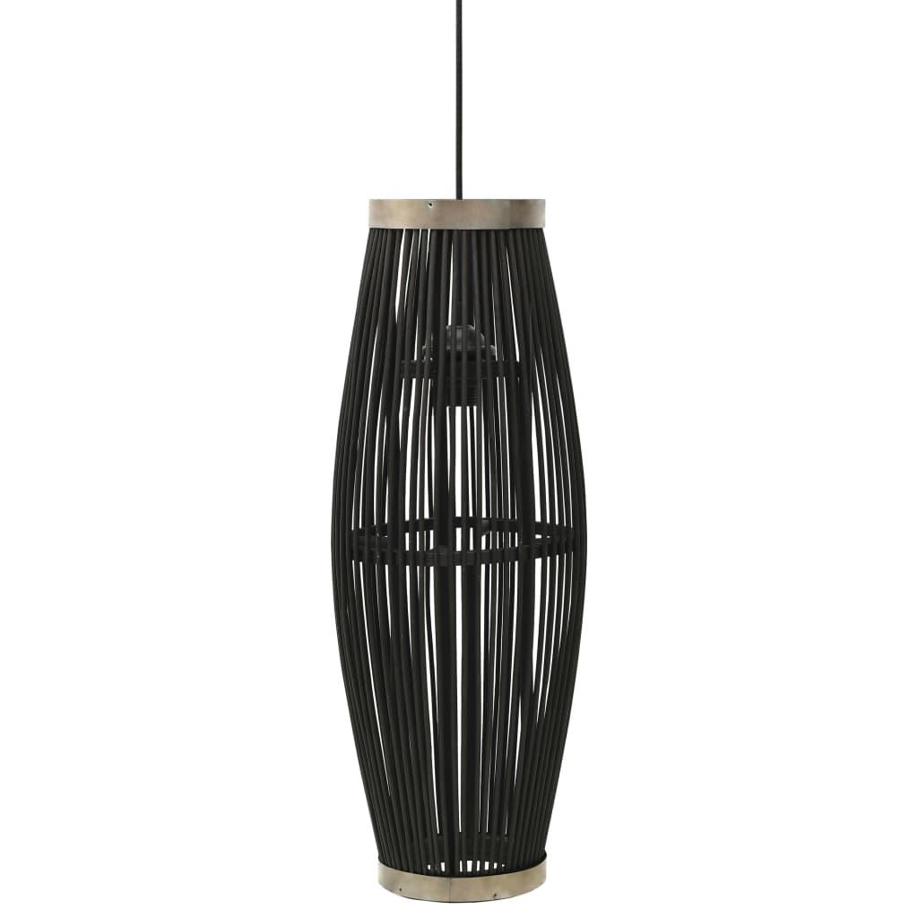 Taklampa svart pil 40 W 27x68 cm oval E27