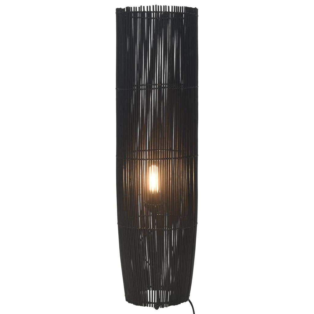 Golvlampa pil svart 52 cm E27