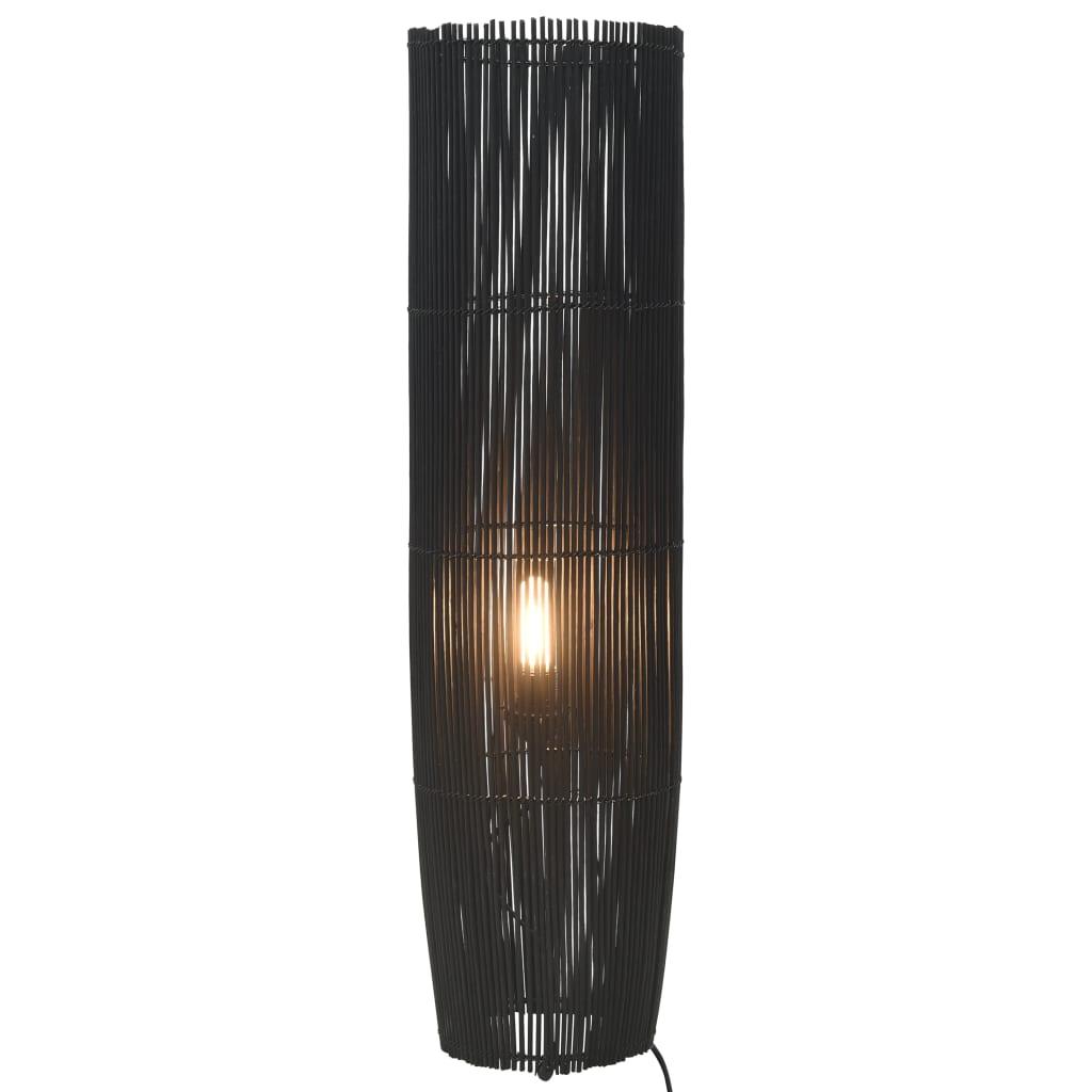 Golvlampa pil svart 61 cm E27